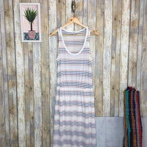 Splendid Dresses - Splendid Pipeline Stripe Maxi Dress